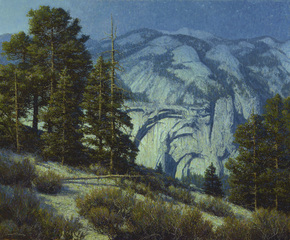 Moonlight on the Rim; Yosemite, Dennis Doheny
