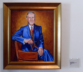 Presidential Portrait (James Cromwell), Matt MacFarland