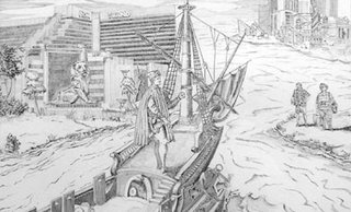 Post-Transplant Convergence: Amerigo Vespucci discovers The Strip., FRANK CHANG