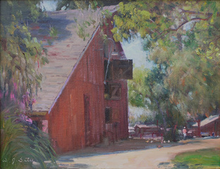 Red Barn - Rancho Los Alamitos, W. Jason Situ