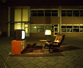 Untitled (Series: &quot;De buurt op straat&quot;),Peter van de Wijngaart