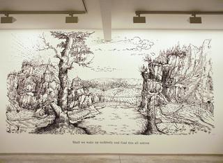 Installation view, David Godbold