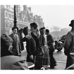 Le Baiser de l\'Hotel de ville,Robert Doisneau