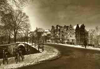 Amsterdam in winter, Marie-Jeanne van Hovell tot Westerflier