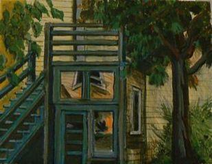 Across the Yard, Jerry Goldberg