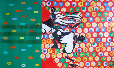 Prasanta_acharjee_on_your_mark_get_set_28x48_inch_acrylic_on_canvas