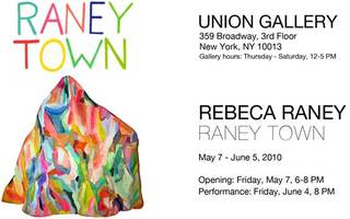 RANEY TOWN, Rebeca Raney