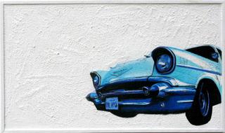 Blue on White, John Adams CA