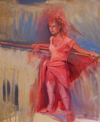 Ballet Dancer at Rest, Suzanne Giuriati-Cerny