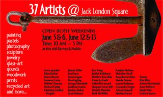 Postcard Jack London Square 37 artists, Micaela Marsden