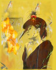Billie Holiday with Yellow Flowers, Suzanne Giuriati-Cerny
