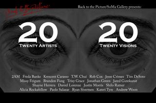 Third Annual 20/20, curated by Crystal Dent,