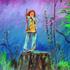 Boy_on_a_stump_acrylic_canvas_22x28_in