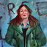 Silvia_in_green_acrylic_canvas_28x22in