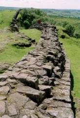 The Wall near Walltown Crags. This part is completely original and in very good shape, Marian van de Veen-van Rijk