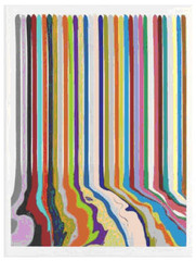 Etched Lines: Thirty Four, Ian Davenport