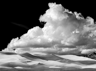 Great Sand Dunes National Monument, CO, 1975, Huntington Witherill