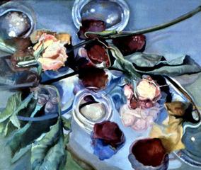 Transience - Oil on Linen, Joan Taxay Weinger