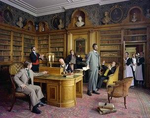Diary of a Victorian Dandy: 14.00, Yinka Shonibare