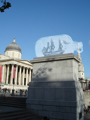 Sketch of Nelson's Ship in a Bottle (Fourth Plinth project in Trafalgar Square, London), Yinka Shonibare