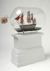 Maquette of Nelson's Ship in a Bottle (Fourth Plinth project in Trafalgar Square, London), Yinka Shonibare