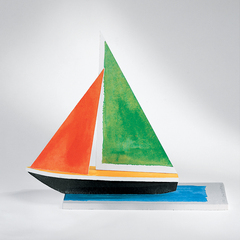 Sailboat, John Baldessari