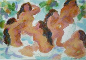 Jeanedelstein-bathers_for_artslant