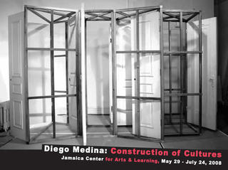 (Accouncement from Construction of Cultures, JCAL, NY), Diego Medina