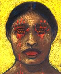 Mano Colorada, Mano de Sangre, Mano de Opresión, Judithe Hernandez