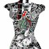 Work_black_and_white_original_woman