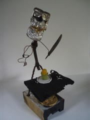 A Robot Eating Dinner,Tennessee Phillips Ward