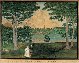 Portland or Skaneateles, New York, Fanny A. Coney