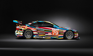 BMW Art Car,Jeff Koons