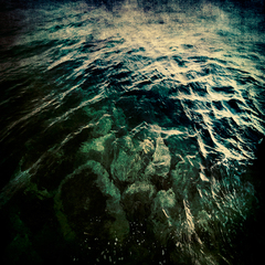 Aagean Rocks and Water, Michael Regnier
