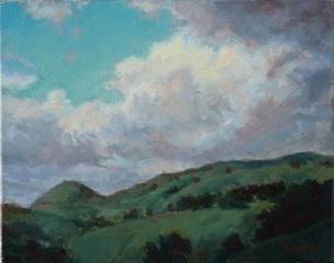 Parting Clouds, sonoma, Dean Larson