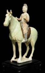 Asian Art: Tang Horse and Rider,