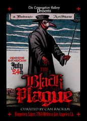 The Black Plague Group Art Show, TBA