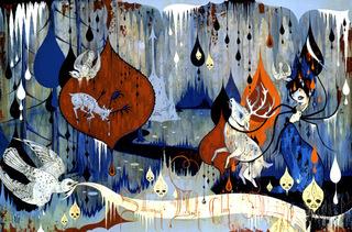 Subterranean Death Clash, Camille Rose Garcia