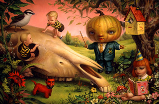 The Pumpkin President, Mark Ryden