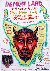 Demon Land: Tasmania, Jeffrey Vallance