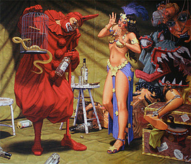 Pavilion of the Red Clown, Robert Williams