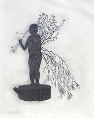 Tree man stump, Agelio Batle