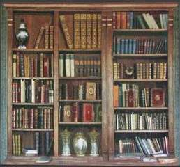 Antiquarian Library (detail), Donald Farnsworth
