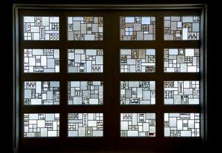 the art glass door at eo, Alan Davidson