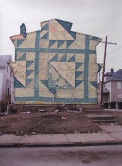 Quilted House 1 , Melissa Vogley Woods