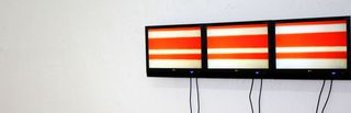 \'Stripes\' | Multi Screen Video Sound Installation, Eva Bauer