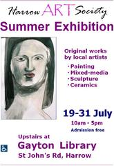 Exhibition details,Harrow Art Society