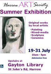 Exhibition details, Harrow Art Society