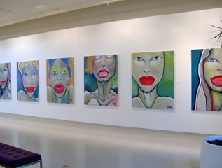Expressive Color exhibition, DJ Grossi