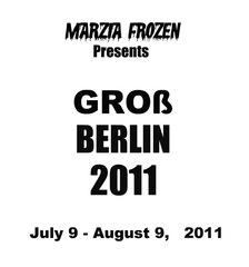 GROß  BERLIN  2011,